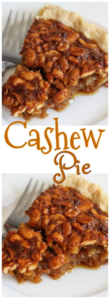 Nut Dessert Recipes: Cashew Pie