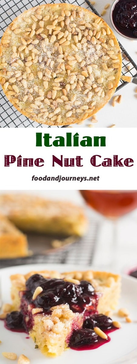 Nut Dessert Recipes: Italian Pine Nut Cake