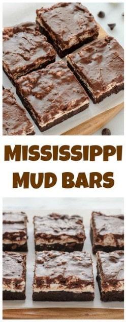 Nut Dessert Recipes: Mississippi Mud Bars Recipe