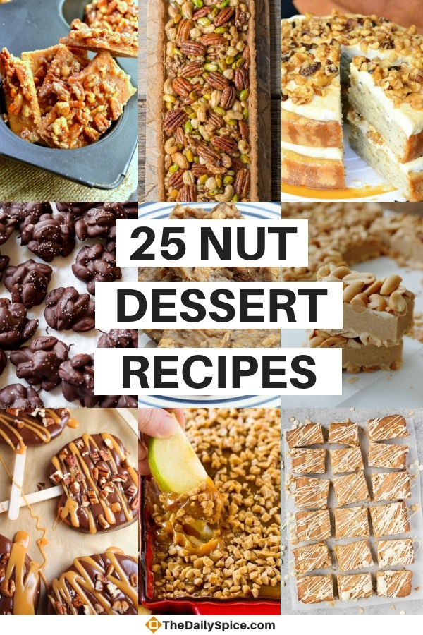 Holiday Nut Dessert Recipes