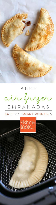 Healthy Air Fryer Recipes: Air Fryer Beef Empanadas
