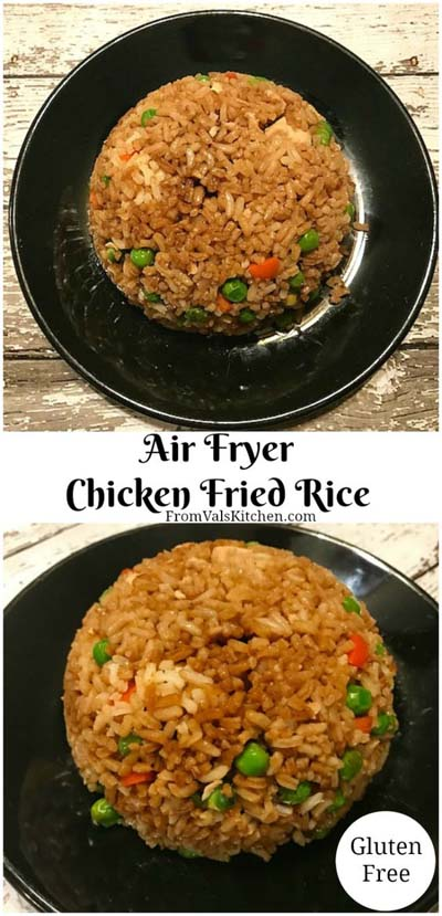 Healthy Air Fryer Recipes: Air Fryer Chicken Fried Rice Recipe