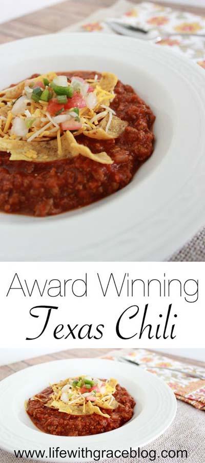Chili Recipes: Award-Winning Texas Chili