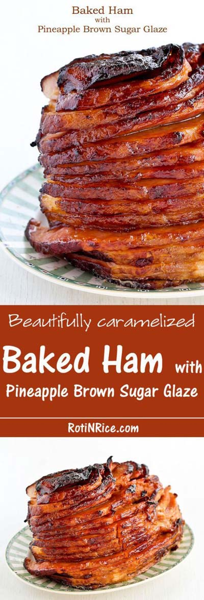 Christmas Dinner Recipes: Baked Ham With Pineapple Brown Sugar Glaze