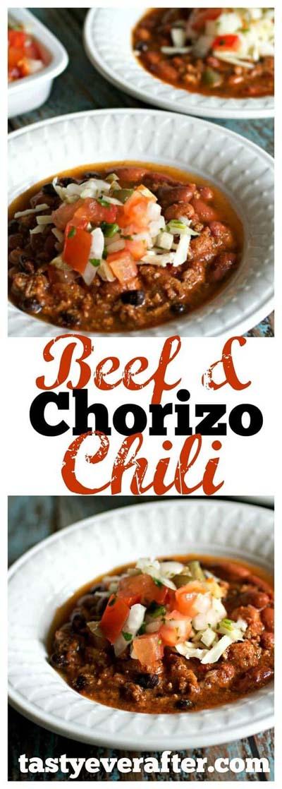 Chili Recipes: Beef & Chorizo Chili