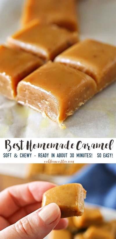 Easy caramel dessert recipes: Best Homemade Caramel