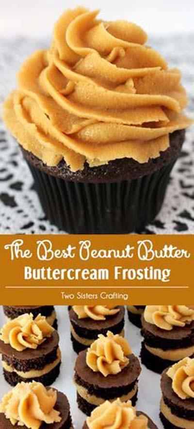 Peanut Butter Best Peanut Butter Buttercream Frosting