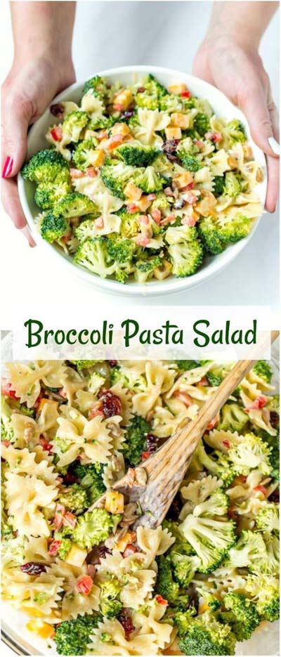 Healthy salad recipes: Broccoli Salad Recipe
