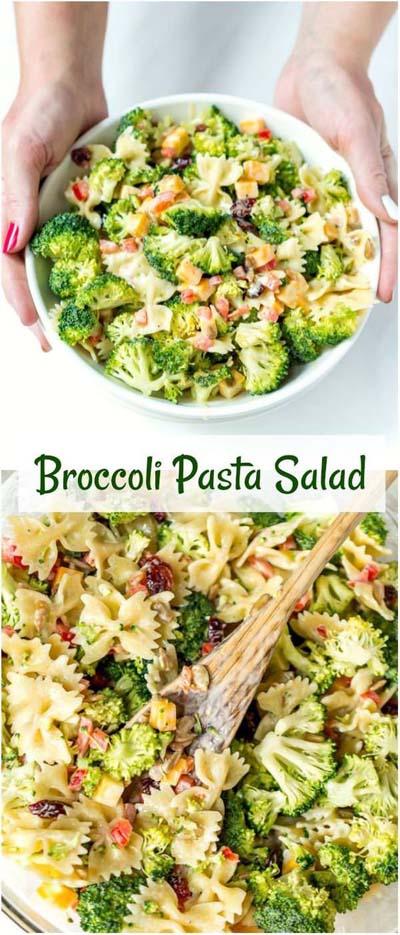 Healthy salad recipes: Broccoli Salad Recipe