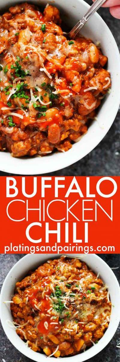 Chili Recipes: Buffalo Chicken Chili