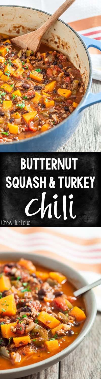 Chili Recipes: Butternut Squash Chili