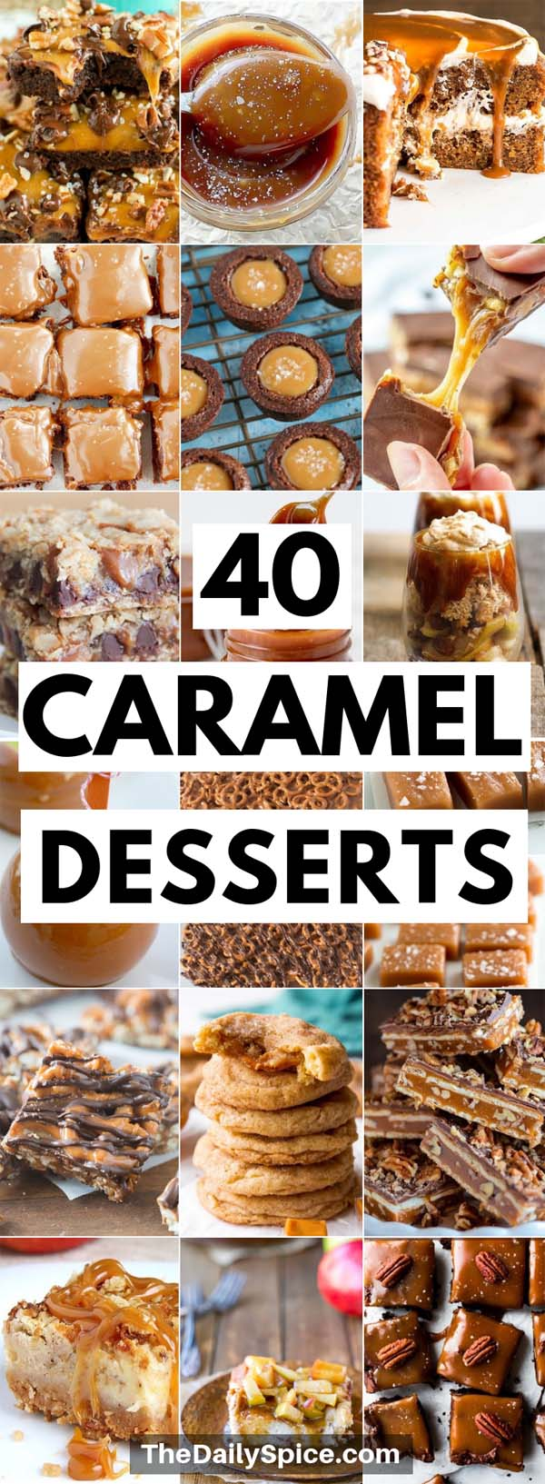 Caramel Dessert Recipes