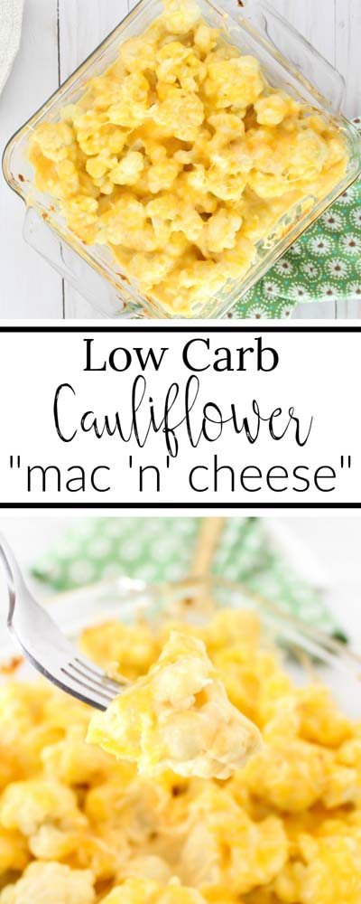 Keto Casserole Recipes: Cheesy Cauliflower Casserole