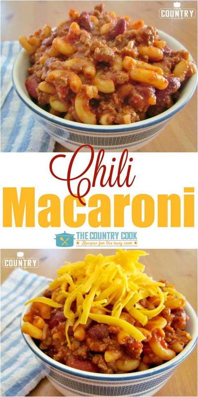Chili Recipes: Chili Mac