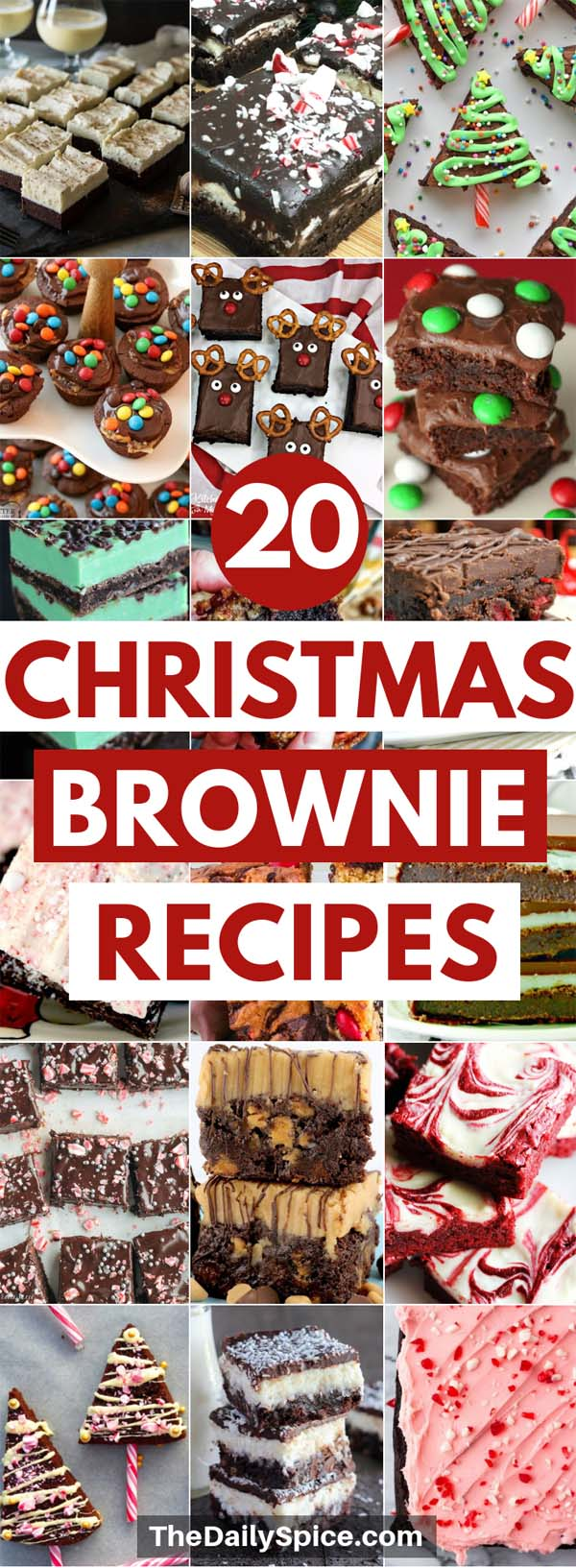 Christmas Brownie Recipes