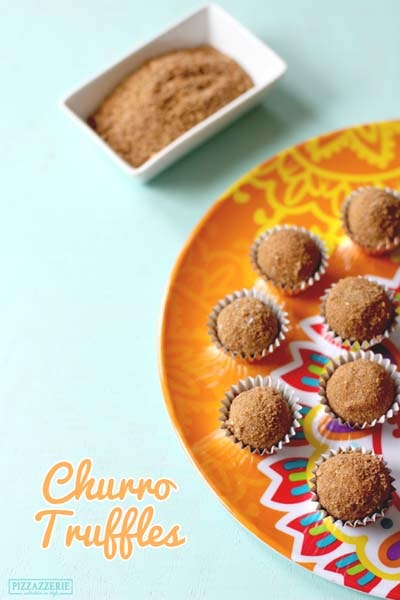 Truffle Dessert Recipes: Churro Truffles