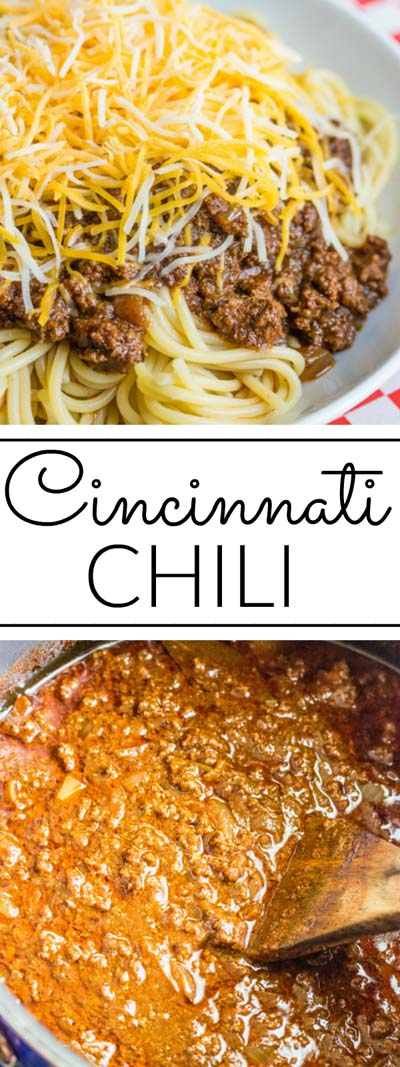 Chili Recipes: Cincinnati Chili