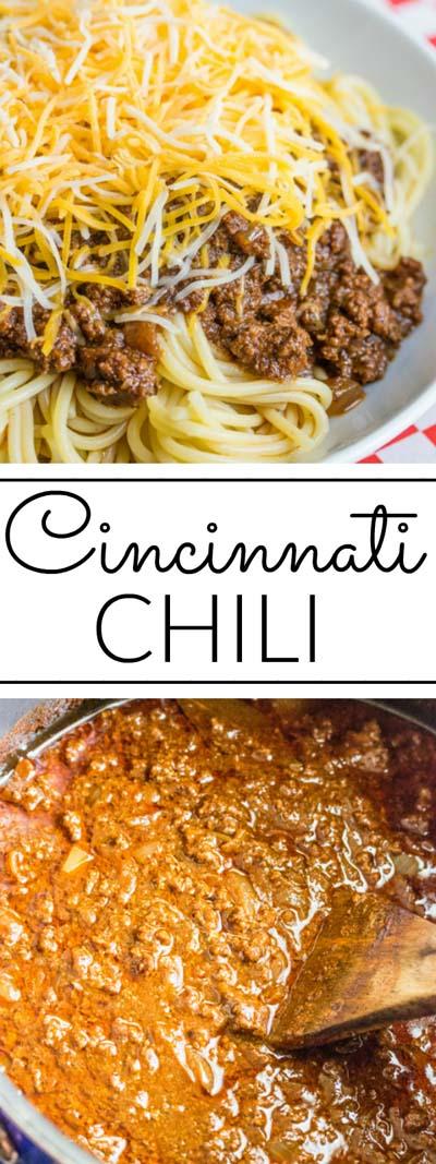 Chili Recipes: Cincinnati Chili