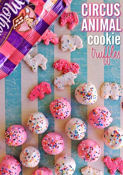 Truffle Dessert Recipes: Circus Animal Cookie Truffles Recipe