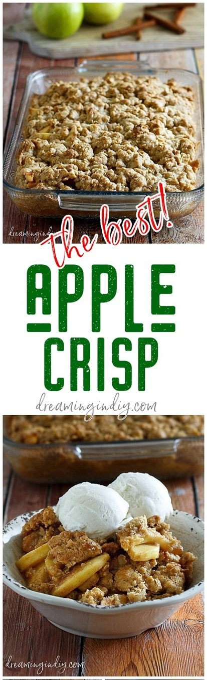 Thanksgiving Desserts: Classic Apple Crisp Dessert Recipe