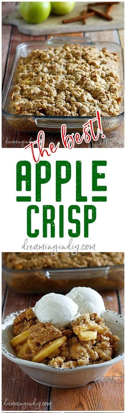 Thanksgiving Desserts: Classic Apple Crisp Dessert Recipe