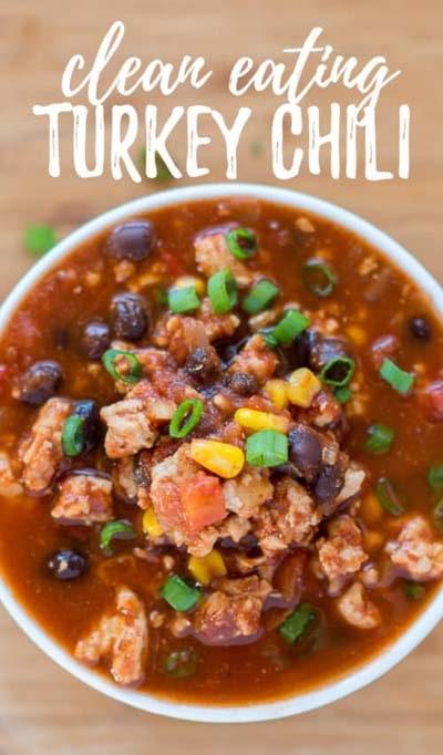 Chili Recipes: Clean-Eating Turkey Chili