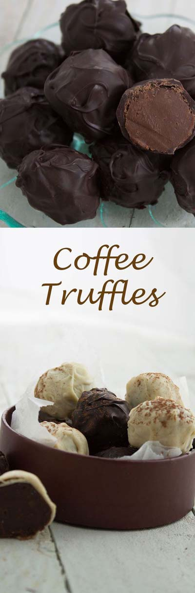 Truffle Dessert Recipes: Coffee Truffles