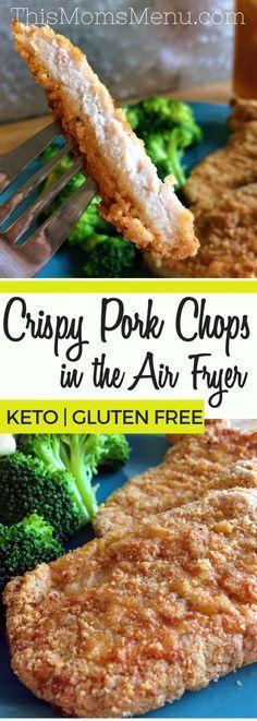 Healthy Air Fryer Recipes: Crispy Air Fryer Pork Chops