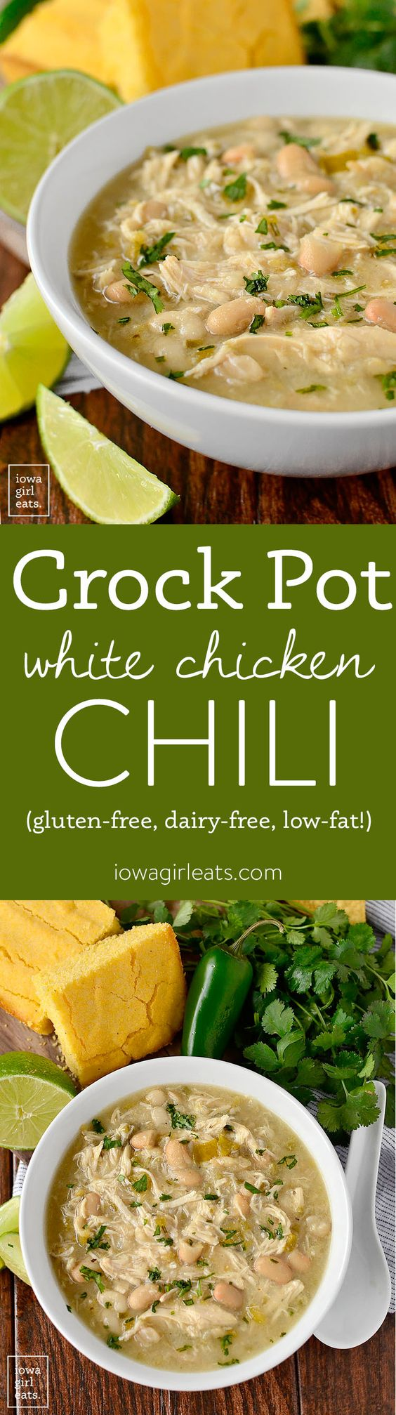 Chili Recipes: Crock Pot White Chicken Chili
