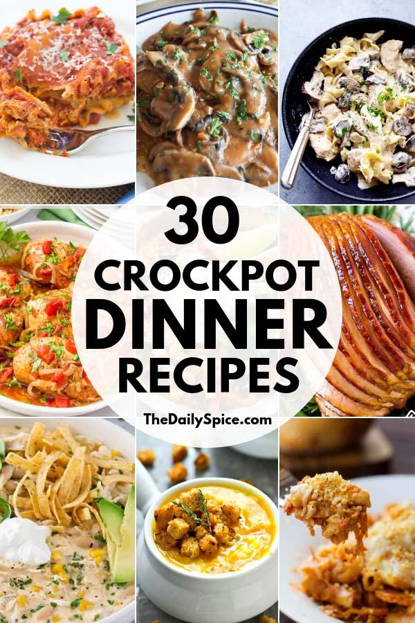 Crockpot Dinner Recipes