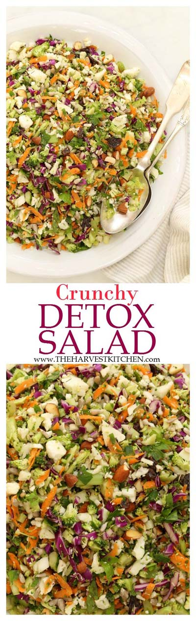 Healthy salad recipes: Crunchy Detox Salad