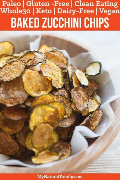 Keto snacks on the go: Curried Zucchini Chips