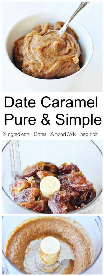 Easy caramel dessert recipes: Date Caramel