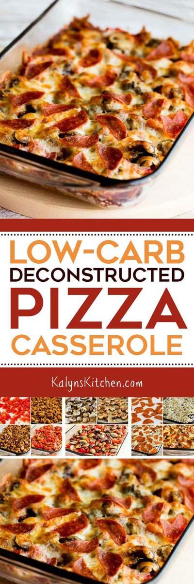 Keto Casserole Recipes: Deconstructed Pizza Casserole