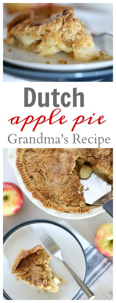 Thanksgiving Desserts: Dutch Apple Pie Recipe