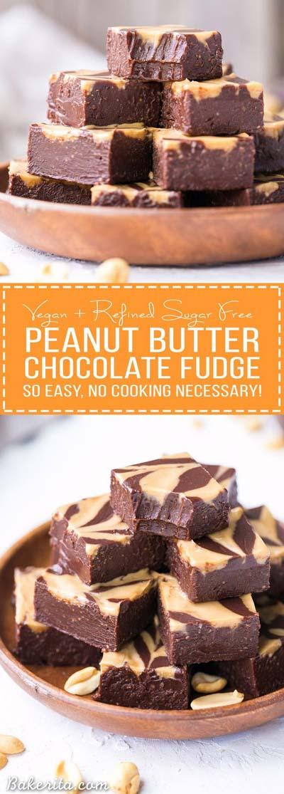 Peanut Butter Desserts: Easy Chocolate Peanut Butter Fudge