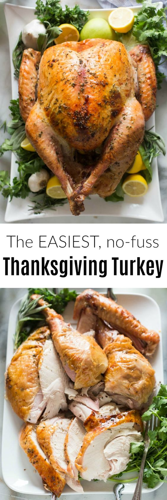 Thanksgiving turkey recipes: Easy No-fuss Thanksgiving Turkey