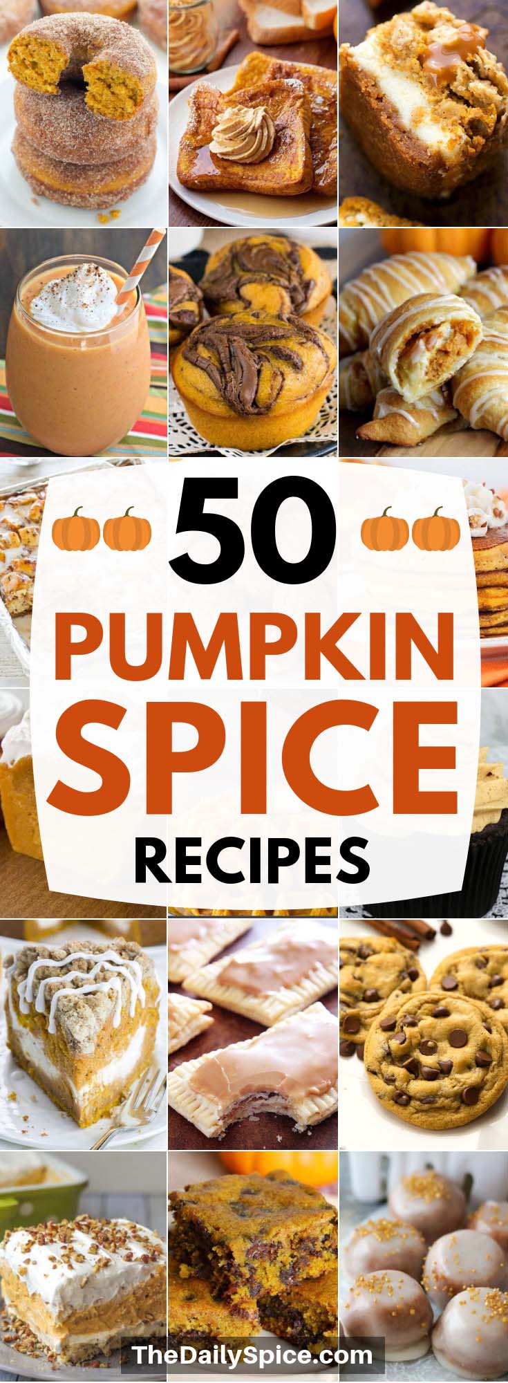 Easy Pumpkin Spice Recipes perfect for Thanksgiving, Christmas and the holidays