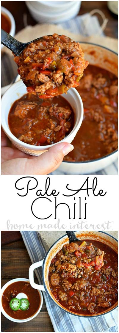 Chili Recipes: Easy Stovetop Pale Ale Chili