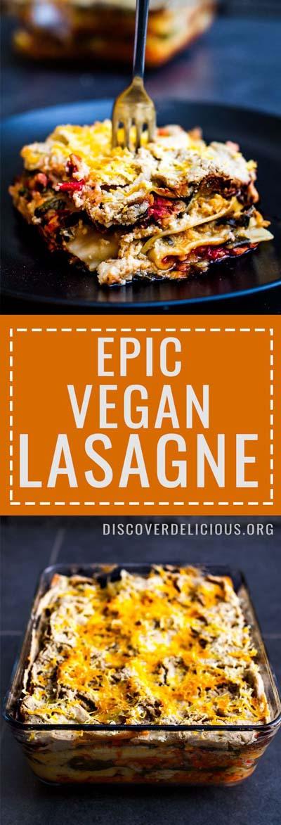 Vegan Pasta Recipes: EpicVegan Lasagne