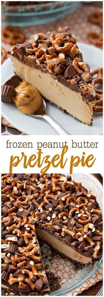 Peanut Butter Desserts: Frozen Peanut Butter Pie