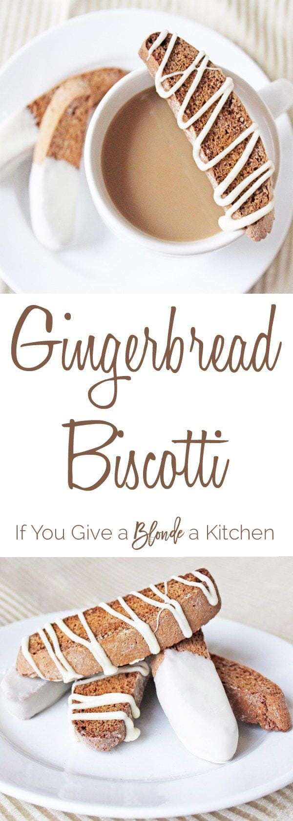 Christmas Gingerbread Recipes: Gingerbread Biscotti