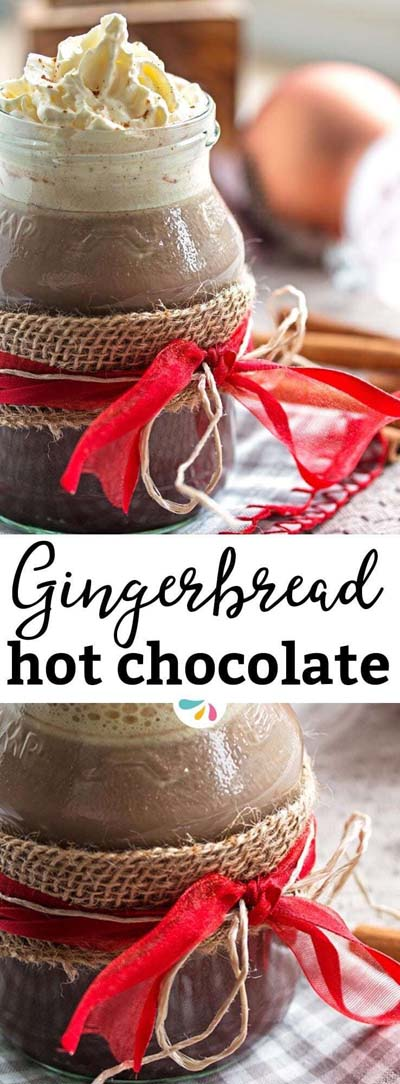 Christmas Gingerbread Recipes: Gingerbread Hot Chocolate