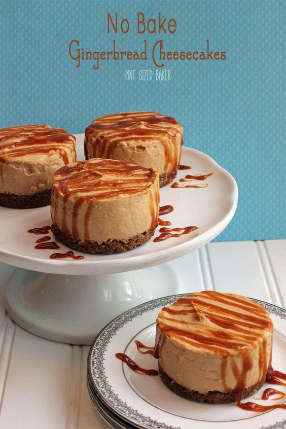 Christmas Gingerbread Recipes: Gingerbread Pudding Cheesecake