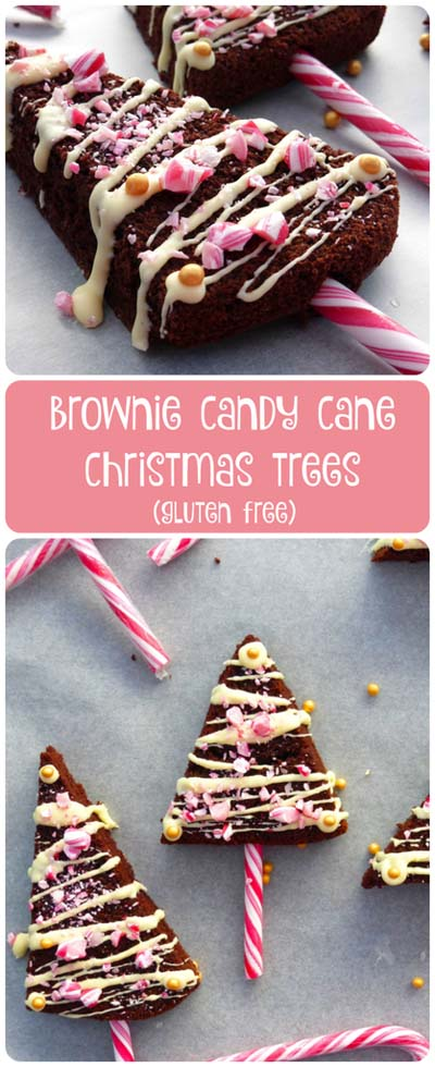 Christmas Brownie Recipes: Gluten Free Brownie Christmas Trees