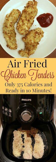 Healthy Air Fryer Recipes: Healthy Air Fried Chicken Tenders