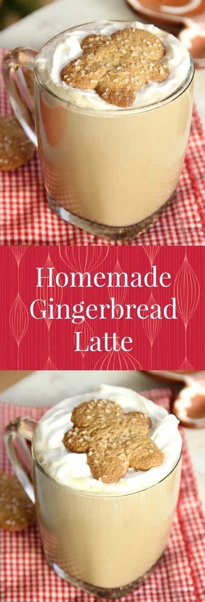 Christmas Gingerbread Recipes: Homemade Gingerbread Latte