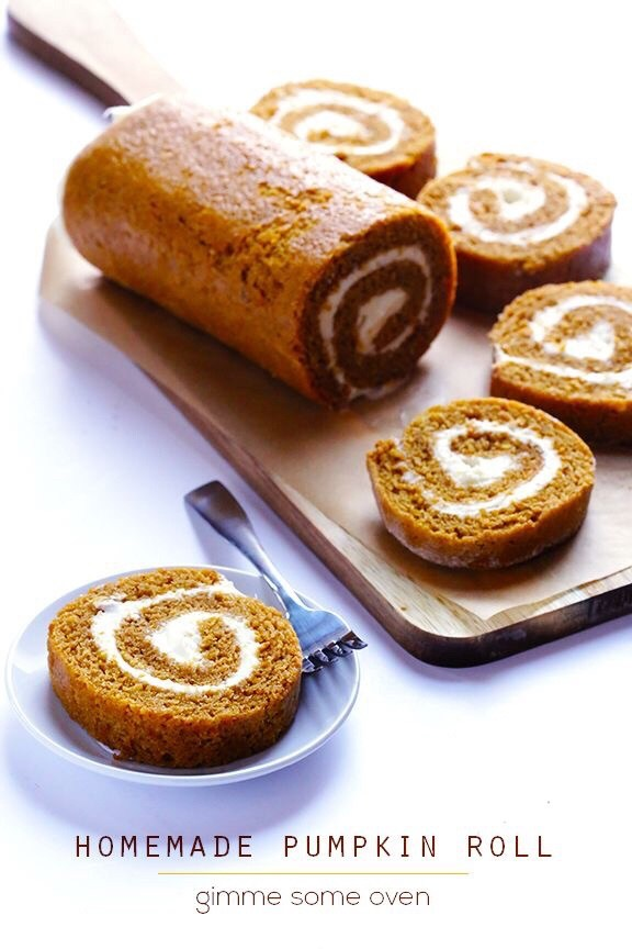 Pumpkin Spice Recipes: Homemade Pumpkin Roll