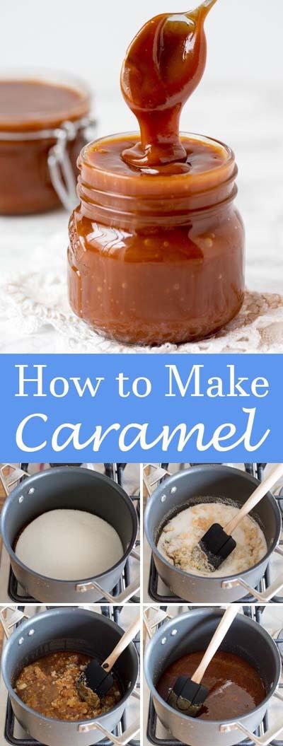 Easy caramel dessert recipes: How To Make Caramel