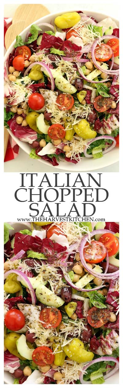 Healthy salad recipes: Italian Chopped Salad